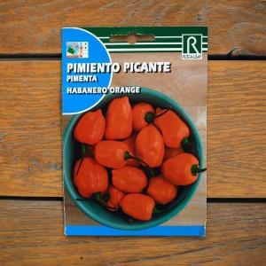 فلفل تند نارنجی کوچک ( رقم هابانِرو)