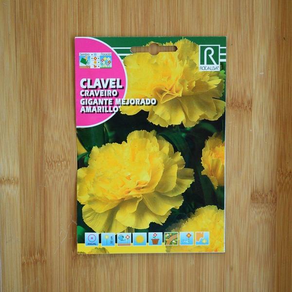 بذر گل میخک گل درشت زرد