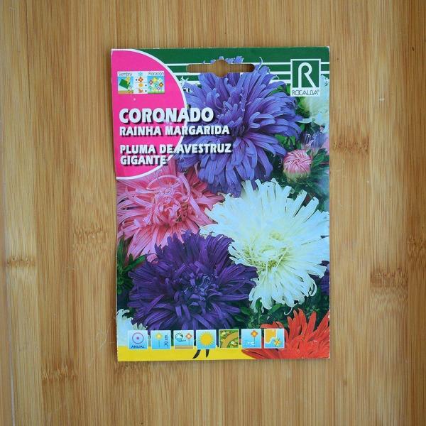 بذر گل مینا شترمرغی درشت چند رنگ