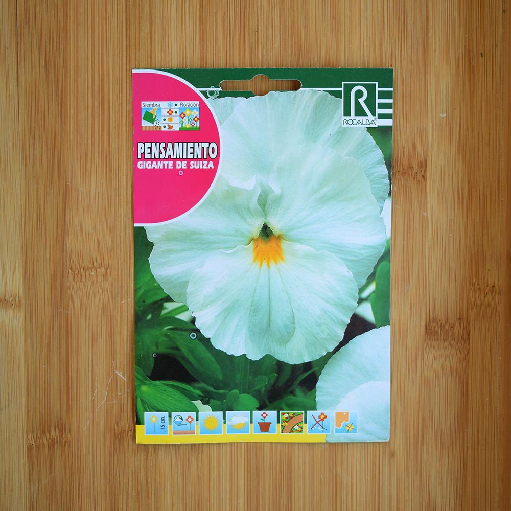 بذر گل بنفشه سفید