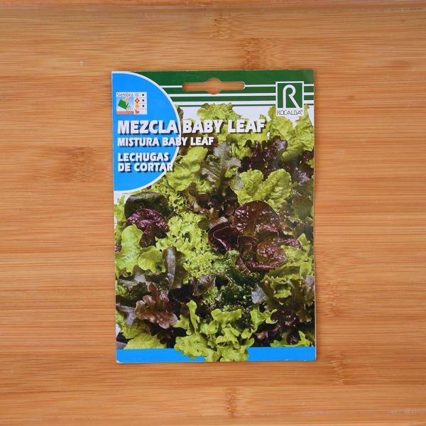 بذر کمیاب بیبی کاهو میکس قرمز و سبز