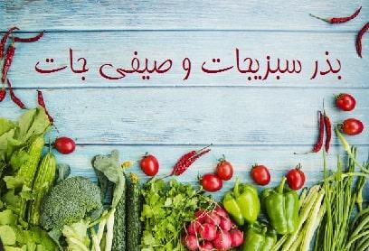 بذر سبزیجات و صیفیجات ، فروش بذر گل و گیاه