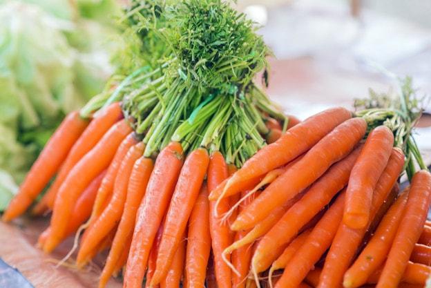 کاشت هویج ، بذر سبزیجات تابستانی