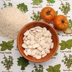 بذر لوبیا پهن سفید 250گرمی