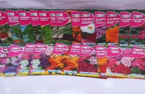 خرید اینترنتی انواع بذر گل