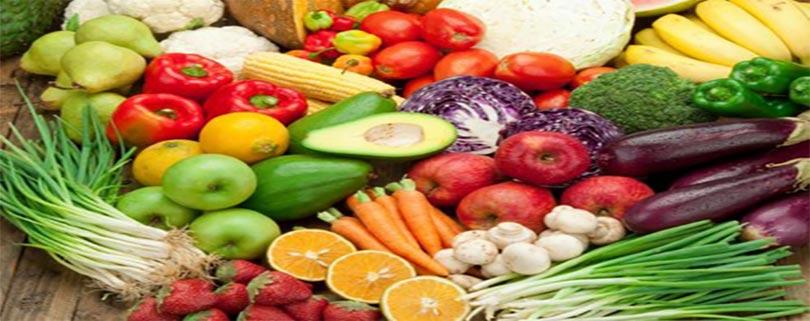 طبقه بندی انواع سبزیجات