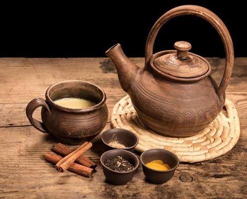 طرز تهیه چای ماسال